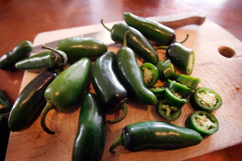 Image: jalapeno peppers