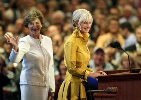 Image: Laura Bush, Cindy McCain