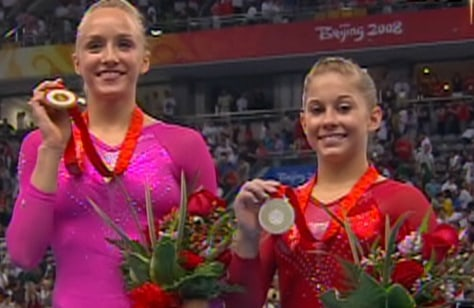 Image: Nastia Liukin, Shawn Johnson