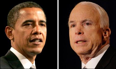 Image: Obama, McCain
