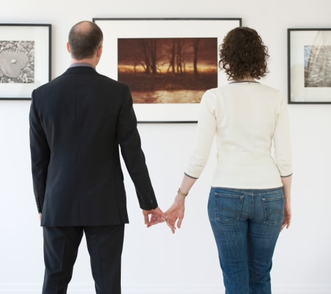 Image: Couple at a museum
