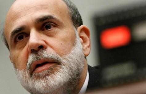 Image: U.S. Federal Reserve Chairman Ben Bernanke