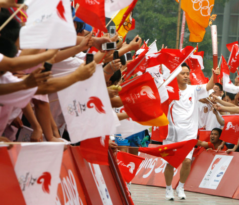 Image: Beijing Olympic Torch Relay