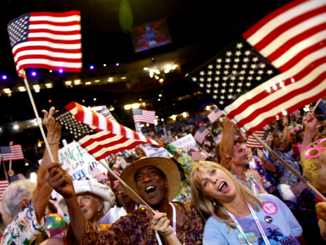 Image: Democratic National Convention: Day 1