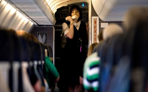Image: Flight attendant