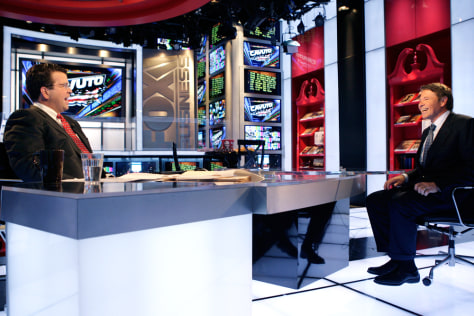 Image: Fox Business Network set