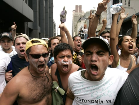 Image: Venezula protests