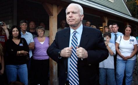 IMAGE: Presidential hopeful Sen. John McCain, R-Ariz.