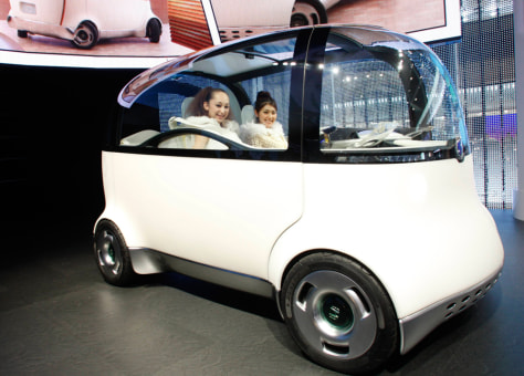 Honda's new Puyo concept car