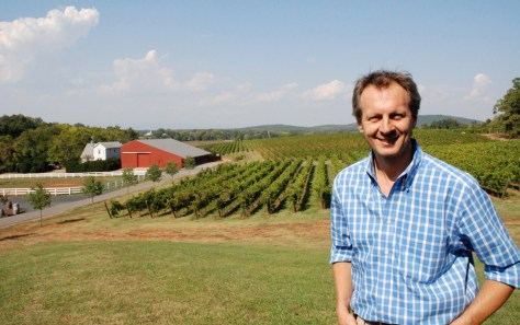 Image: Luca Paschina, GM, Barboursville Vineyards