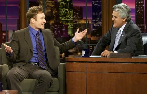 Image: Conan O'Brien, Jay Leno