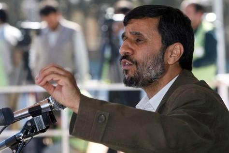 Image: Iran's President Mahmoud Ahmadinejad.