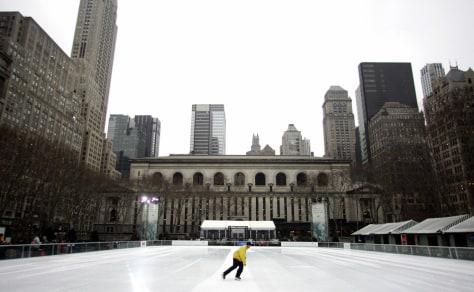 Image: Bryant Park ice-skating rink