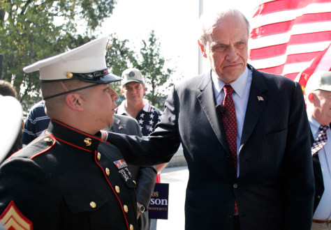 Image: Presidential hopeful Fred Thompson