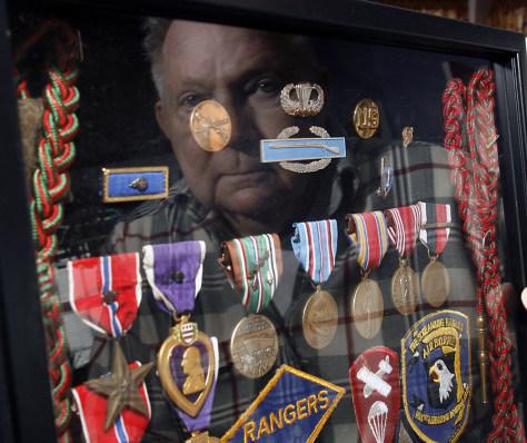 IMAGE: World War II veteran Charles Murz