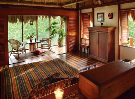 Image: Blancaneaux Lodge, Belize