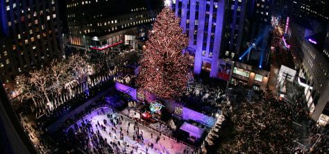 Image: Tree at Rockefeller Center
