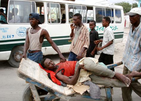 IMAGE: WOUNDED SOMALI
