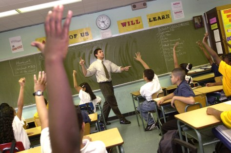 Image: New York public school classroom