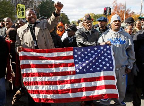 IMAGE: HATE CRIME PROTESTORS