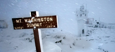 Image: Mount Washington summit