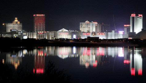 Image The Cur Skyline Of Atlantic City