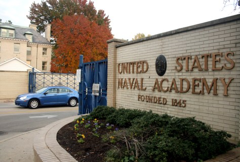 IMAGE: U.S. NAVAL ACADEMY IN ANNAPOLIS