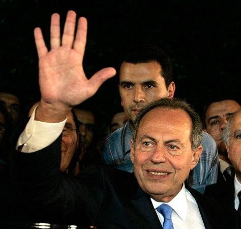 Image: Former Lebanese President Emile Lahoud
