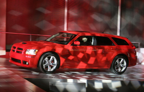 The 2008 Dodge Magnum.