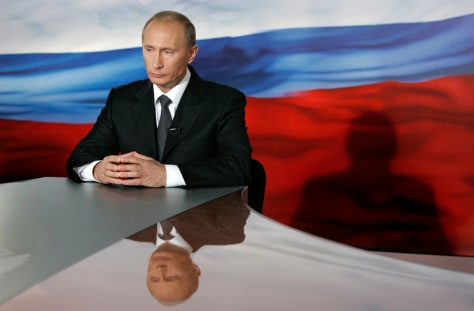 Image: Putin in TV appeal