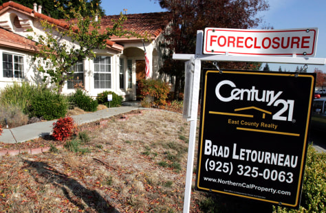 Image: Foreclosure sign in California