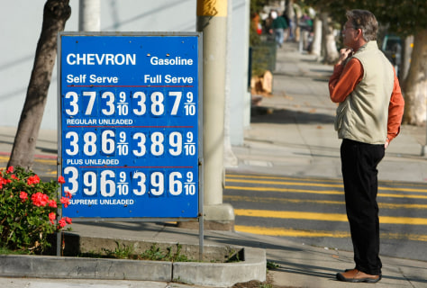 Image: San Francisco gas station