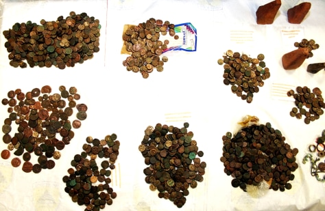 Image: Confiscated coins