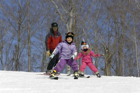 Image: Skiers