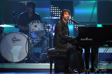 British singer James Blunt
