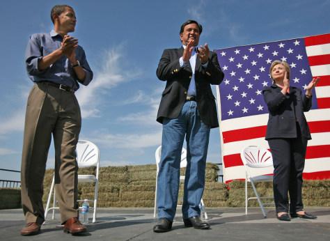 Image: Democratic candidates