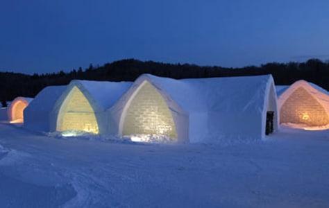 Image: Ice Hotel, Quebec, Canada