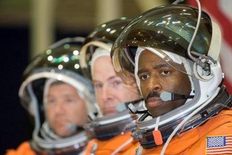 Image: NASA astronaut Leland Melvin