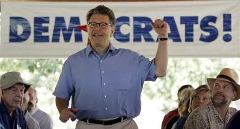 IMAGE: Senate candidate Al Franken, D-Minn.