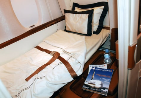 Image: Airplane bed