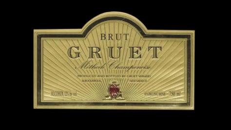 Image: Brut gruet champane