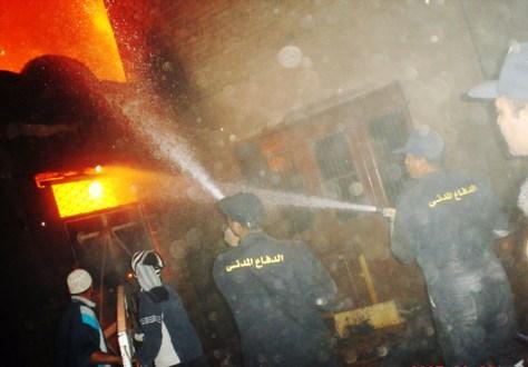 Image: Egyptian firemen