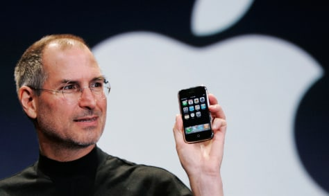Image: Apple iPhone, Steve Jobs