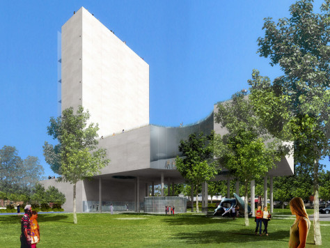 Image: Proposed Fayetteville Museum of Art