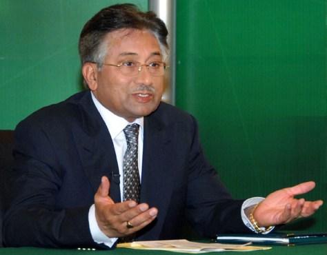Image: Pakistan President Pervez Musharraf