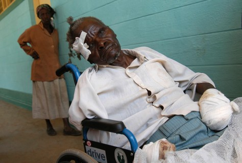 Image: Victim of Kenya violence