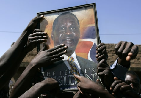 Image: Kenya opposition supporters