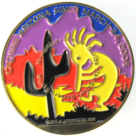 Image: Arizona Geocoin