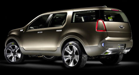 Image: Ford Explorer America concept vehicle