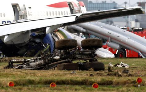 Image: Plane debris